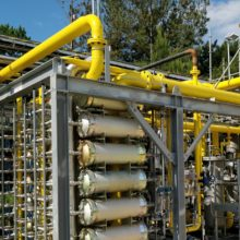 PLC and SCADA for Landfill Gas